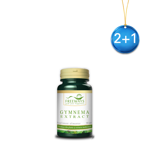 Gymnema extract (90 cps) 2+1