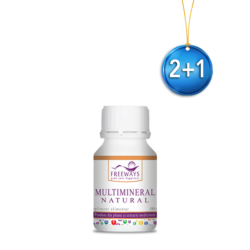 Multimineral Natural (180 cps) 2+1