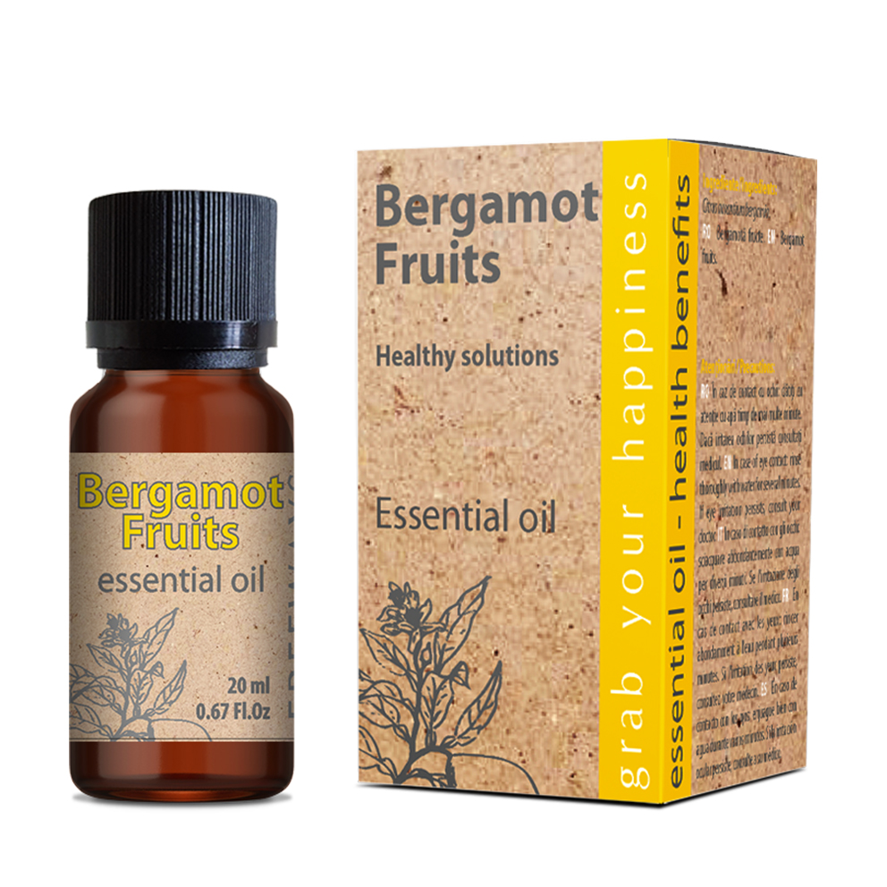 Bergamot Fruits essential oil 20 ml