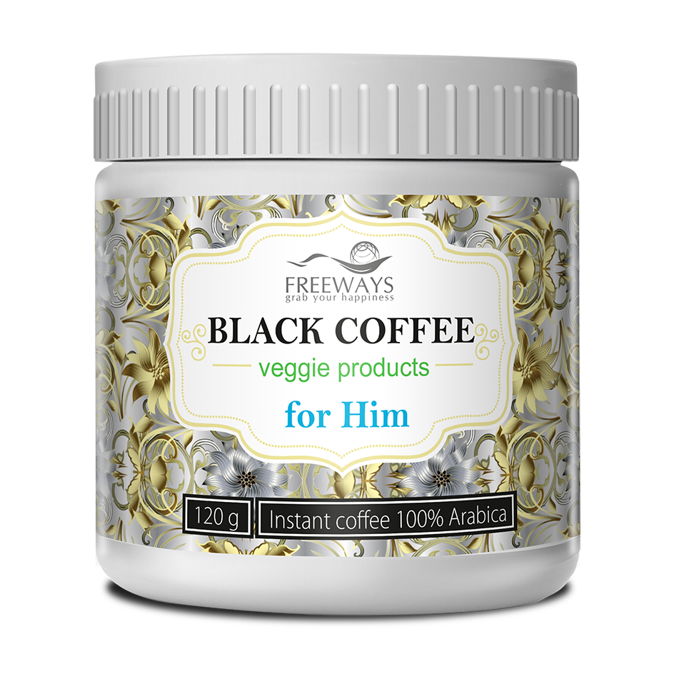 BLACK COFFEE for Him (120 g)