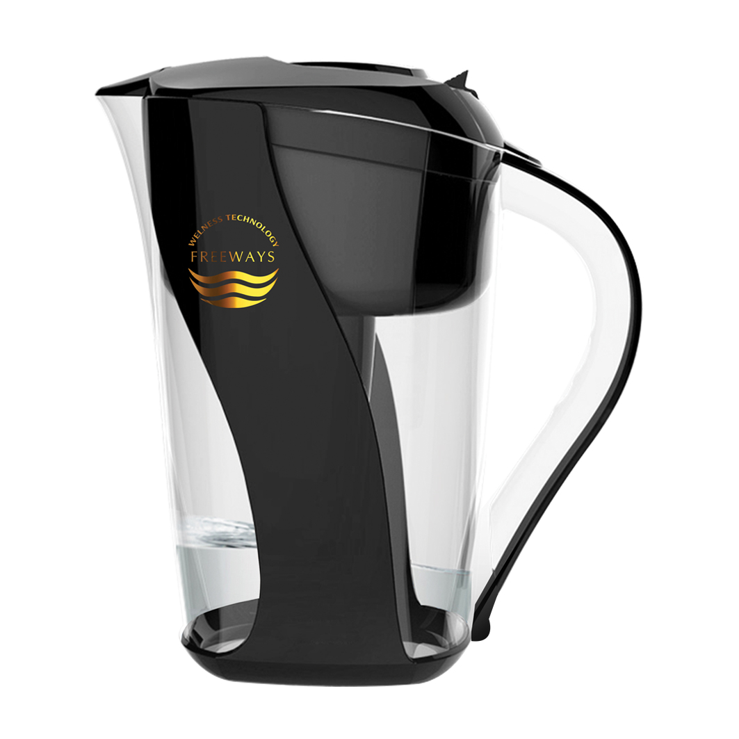 Water purification pitcher (up to - 400 ORP) - black
