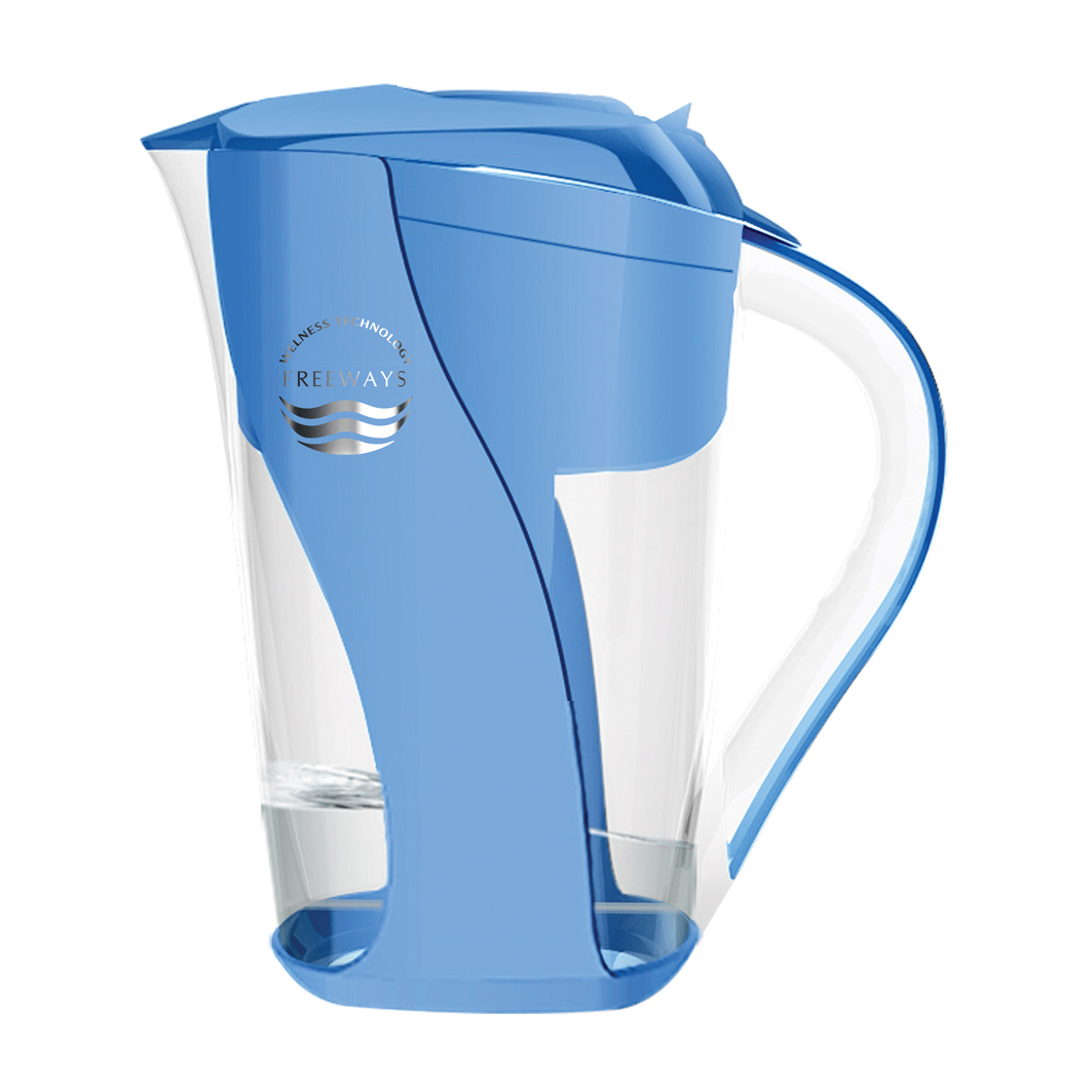 Water purification pitcher (up to - 400 ORP) - blue