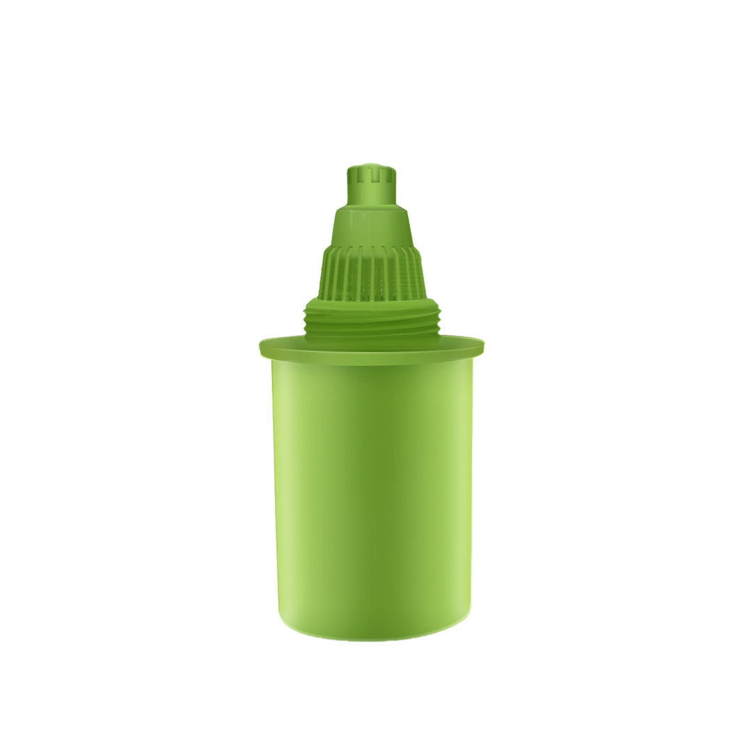 Spare filter for water purification pitcher - green
