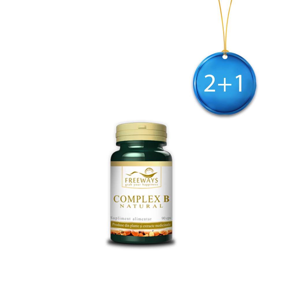 Natural B Complex (90 cps) 2+1