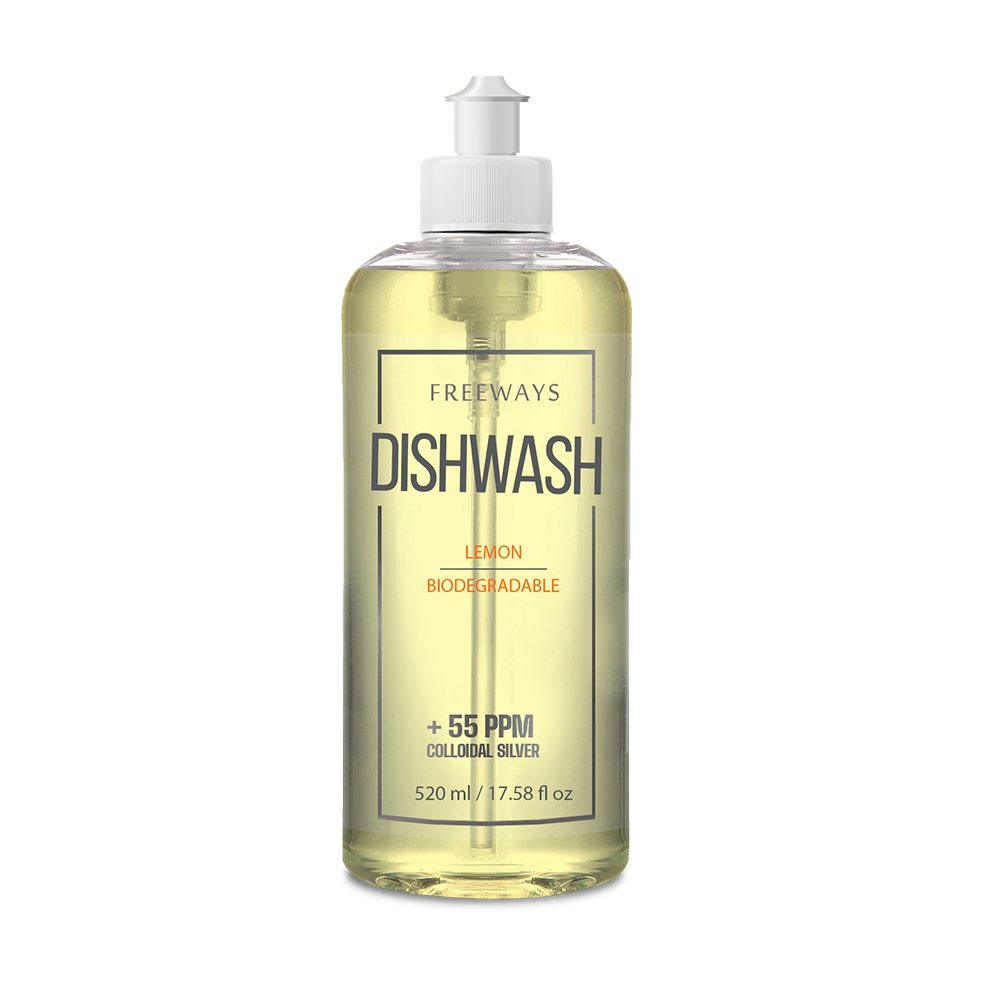 DISHWASH with colloidal Silver 55ppm (520 ml)