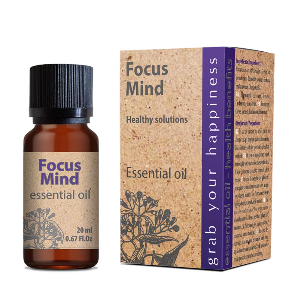 Focus Mind essential oil 20 ml