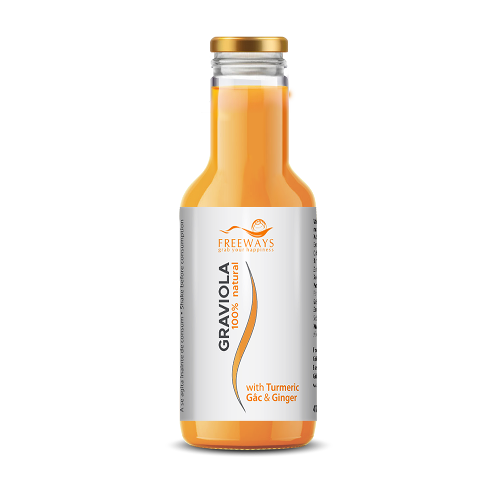 Graviola with Turmeric, Gac & Ginger (470 ml)