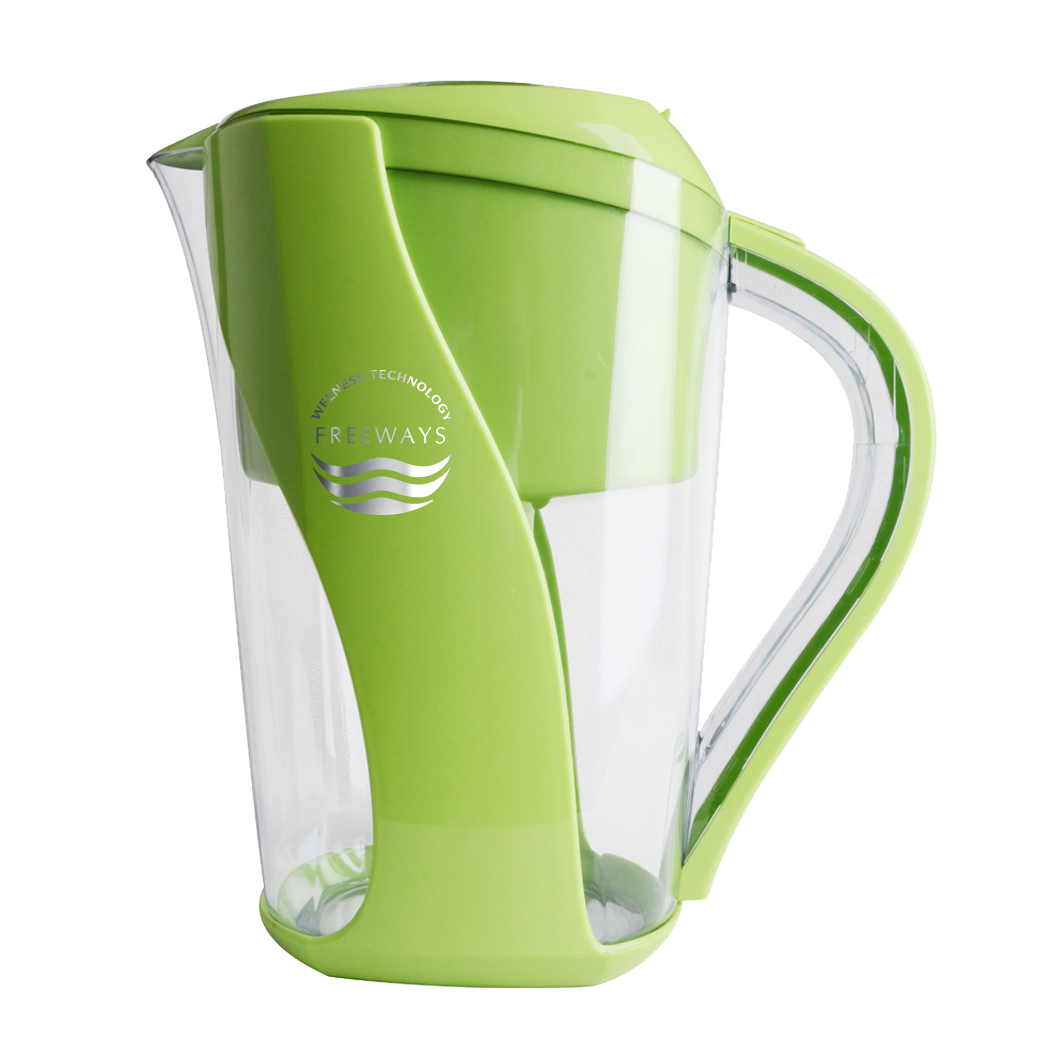 Water purification pitcher (up to - 400 ORP) - green