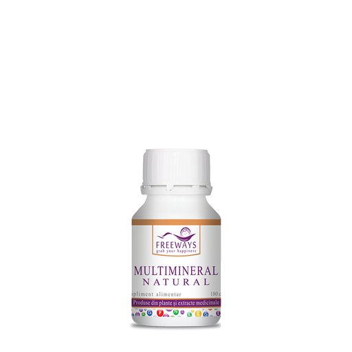 Multimineral Natural  (180 cps)