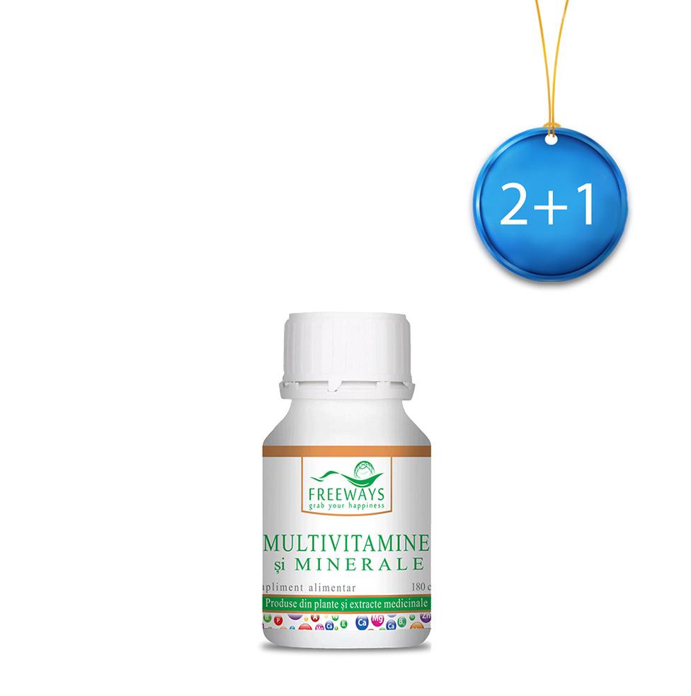 Multivitamine si minerale (180 cps) 2+1
