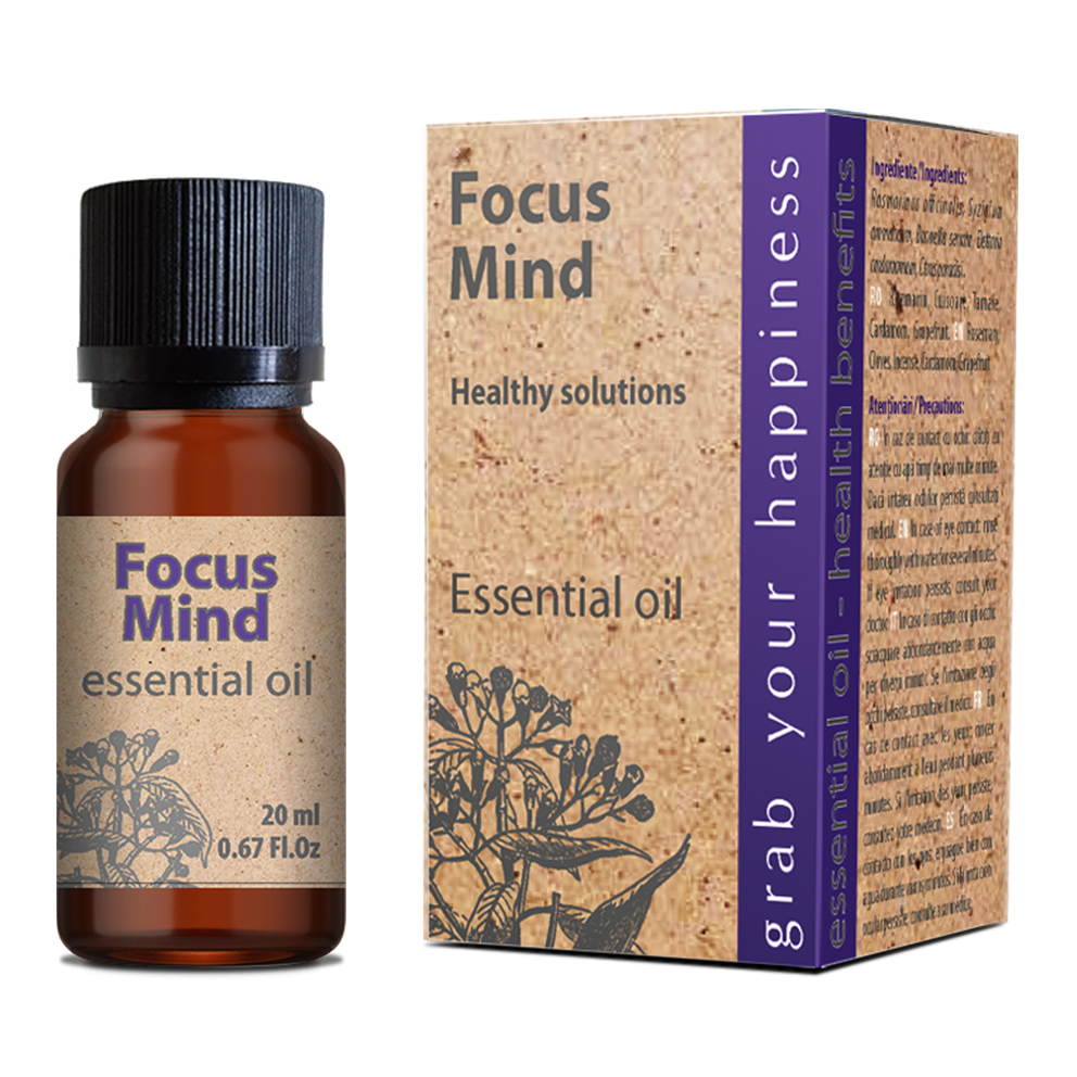 Focus Mind essential oil 20 ml