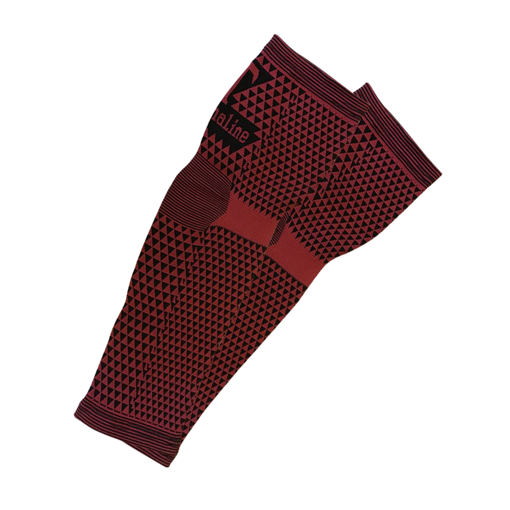 Elastic calf sleeves with tourmaline and magnetic fiber (2 pcs)