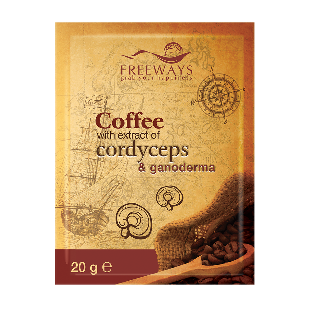 Therapeutic Coffee with Cordyceps and Ganoderma extract (1 sachet)