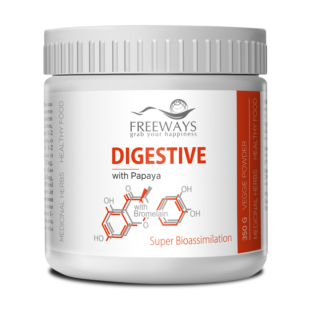 DIGESTIVE with Papaya & Bromelain (350 g)