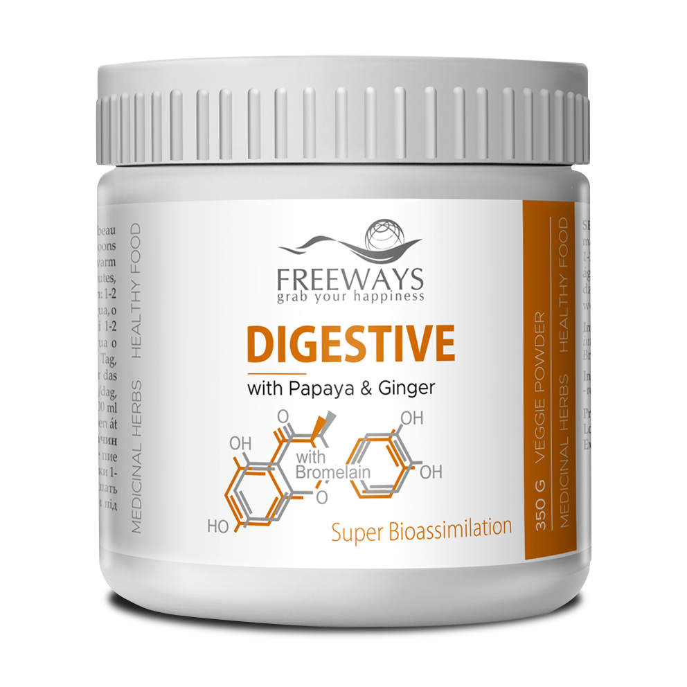 DIGESTIVE with Papaya, Ginger & Bromelain (350 g)