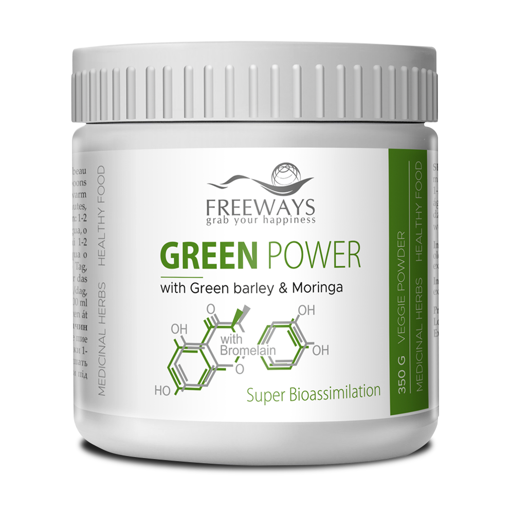 GREEN POWER with Bromelain (350 g)