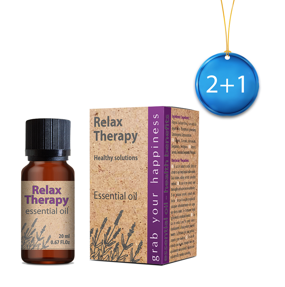 Relax Therapy essential oil 20 ml 2+1