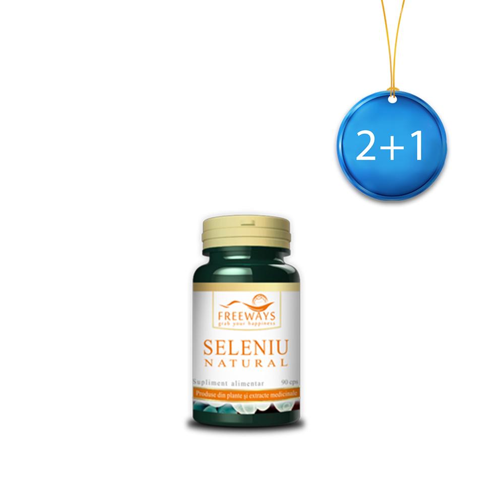 Natural Selenium (90 cps) 2+1